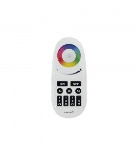 Mi-Light 2.4GHz 4-zone RGBW remote control with button FUT095