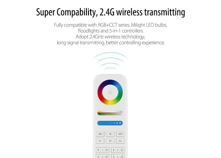 super compatibility 2.4GHz wireless transmitting functions RF remote control