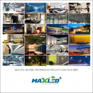 MAX-LED lighting technologies 2017 catalogue PDF cover