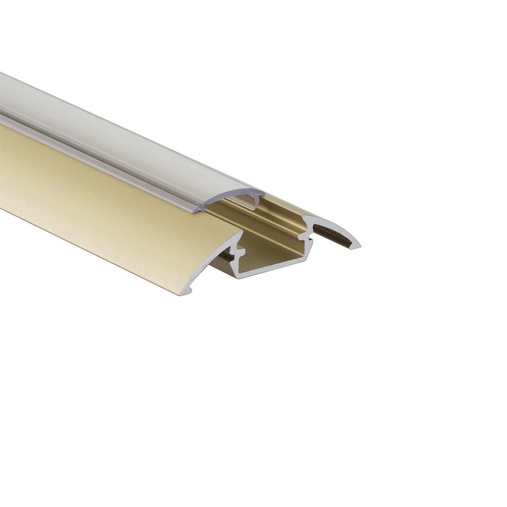 ALU-LED aluminium profile P4 gold