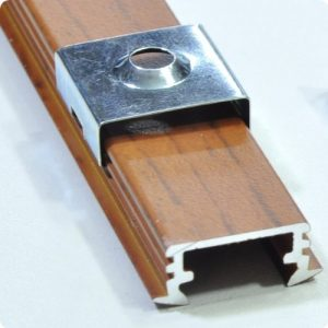 mounting brackets for aluminium profiles P1 recessed flush mounted LED strips
