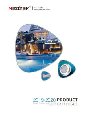 Mi-Boxer smart lighting Mi-Light product catalogue 2019-2020
