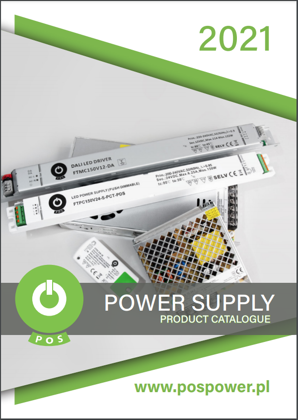 POS power supplies 2021 product catalogue