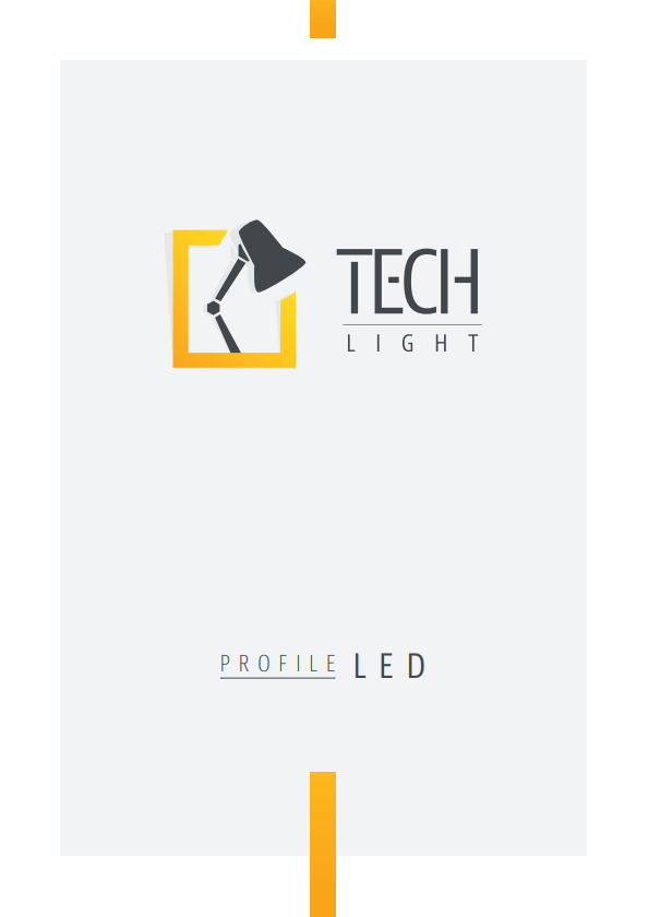 Tech Light aluminium profiles for LED strips product catalogue