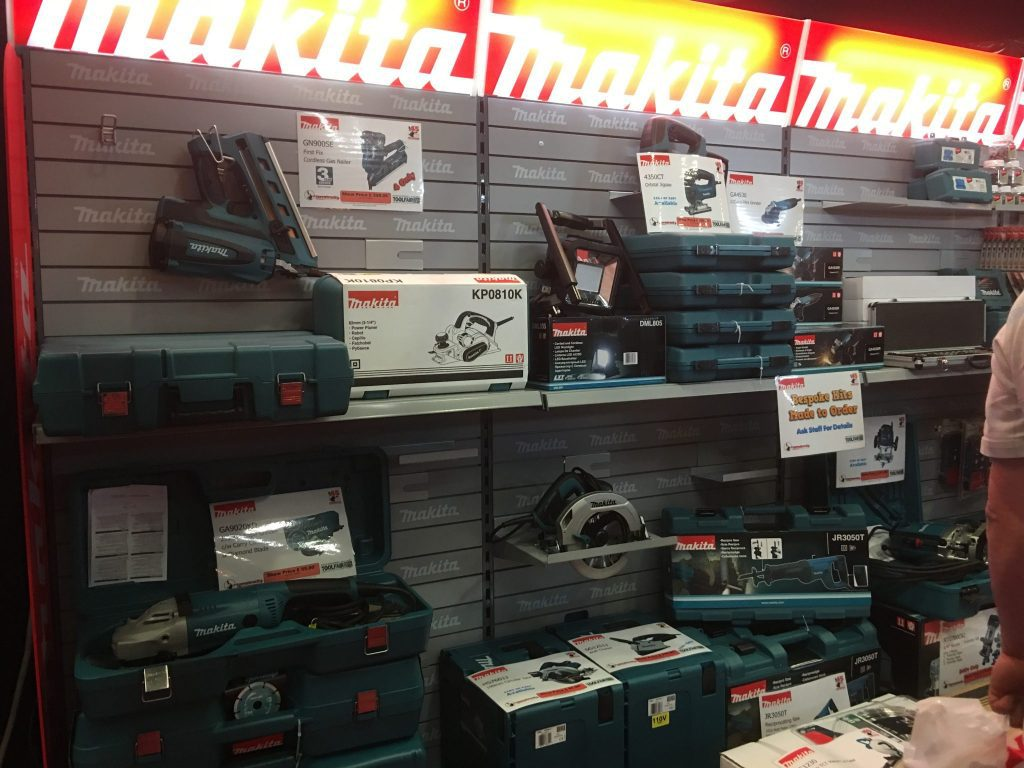 Makita power tools bespoke kits made to order