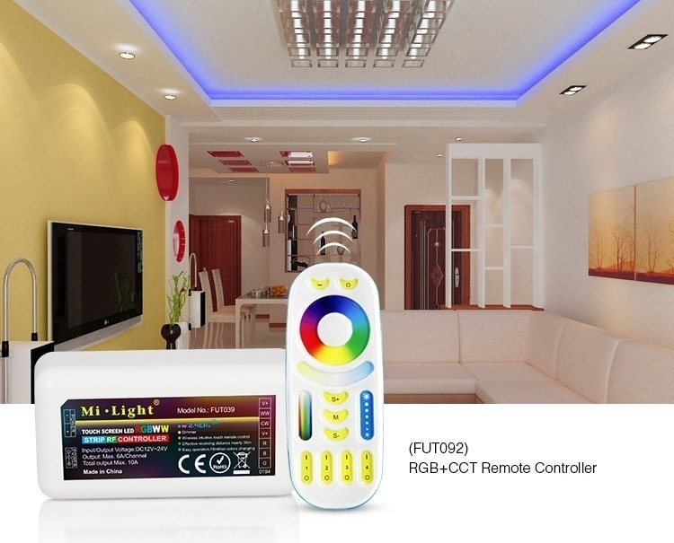 FUT092 RGB+CCT remote controller compatibility