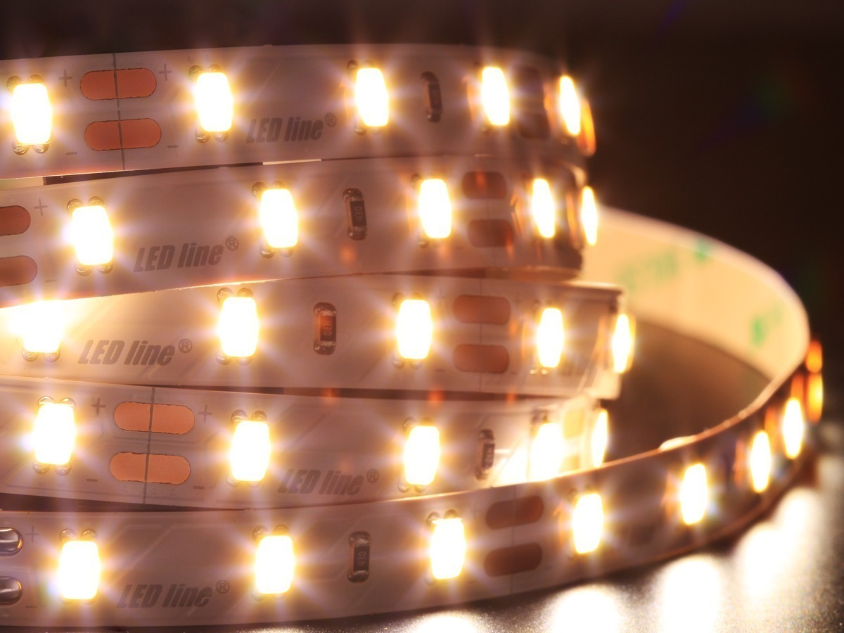 LED line® 300 SMD 5730 12V LED strip CRI95 neutral white IP20