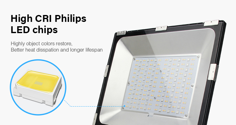 High CRI Philips LED chips long lifespan