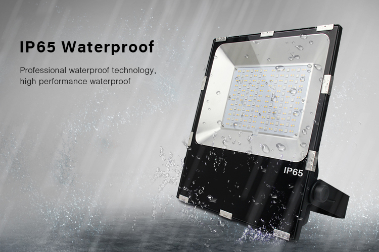 Outdoor floodlight IP65 waterproof smarl LED lamp