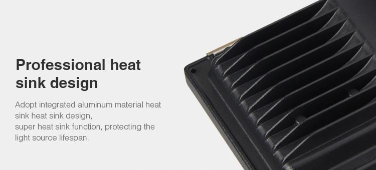 professional heat sink design aluminium body floodlight casing