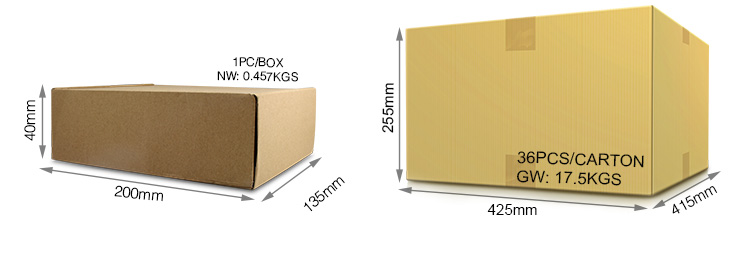 Mi-Light 10W RGB+CCT LED floodlight FUTT05 retail & wholesale packaging multicolour cardboard box