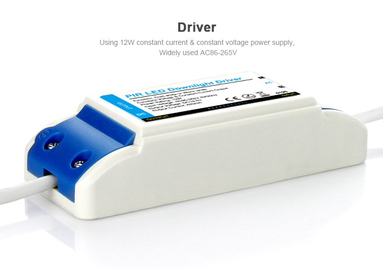 LED driver using 12W constant current & constant voltage power supply widely used AC86-265V