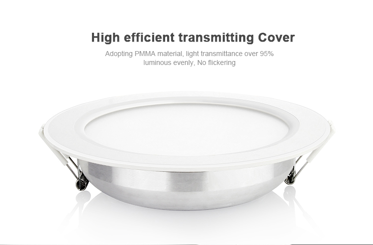 High efficient transmitting cover PMMA material no flickering light FUT066 downlight