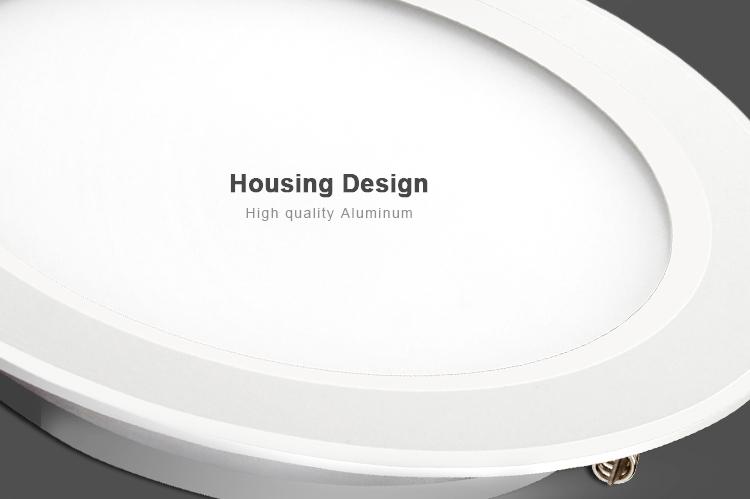 white high-quality aluminium housing design