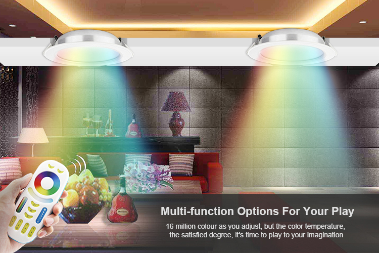 great comfort 16 million colours to drive multi-function options for your play smart downlights