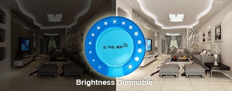 brightness dimmable light adjust ring bright living room dark living room