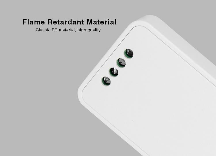 flame resistant material high-quality PC Mi-Light 2.4GHz multi white wireless WiFi dimmer FUT036