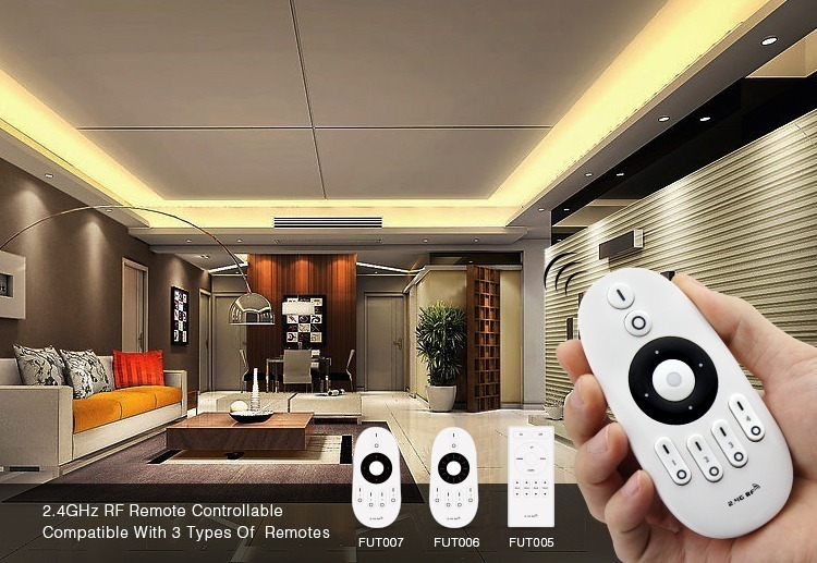 full control 2.4GHz remote controllers compatible with Mi-Light 2.4GHz multi white wireless WiFi dimmer FUT036
