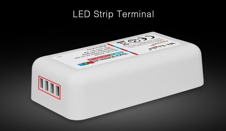 LED strip screw terminals white rectangle controller milight receiver