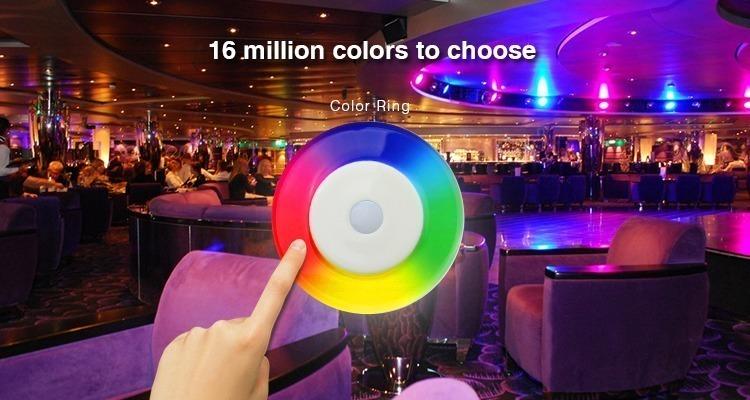 16 million colours to choose