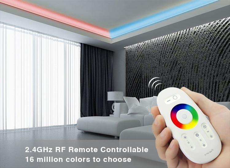 2.4GHz RF remote controller 16 million colours