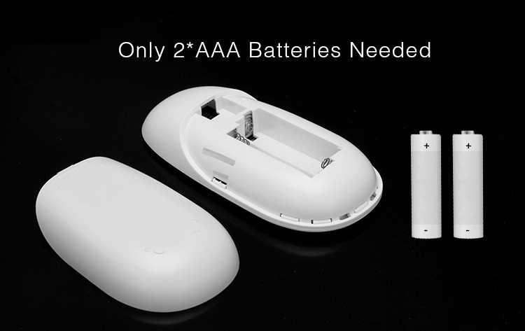 2 pieces units of AAA batteries to power up the remote controller MiLight