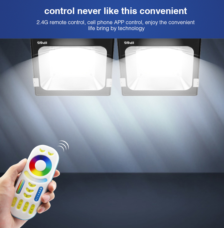 control never like this convenient two floodlights controlled via remote