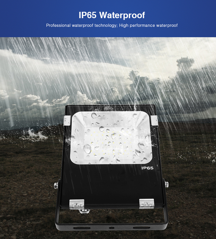 IP65 waterproof LED floodlight outdoor lighting