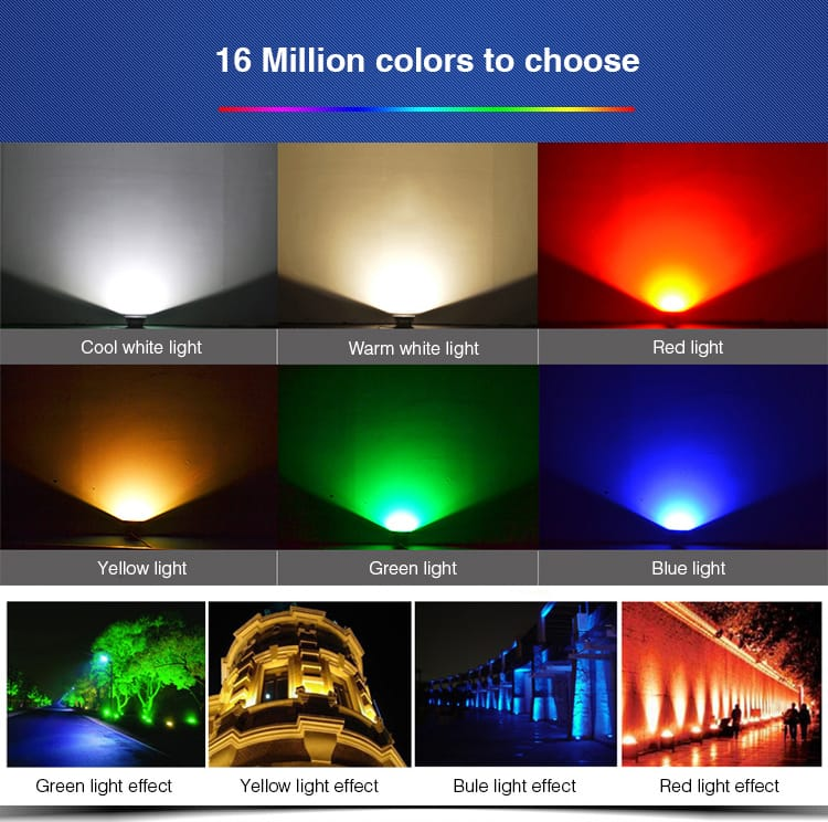 16 million colours smart lighting by milight futlight chinese product hight quality low price remote control RGB+CCT