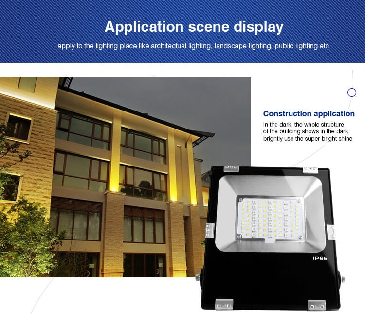 application of smart LED floodlight