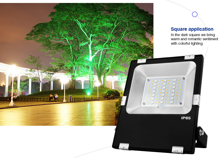 square application smart LED floodlight events great product for wedding parties etc.