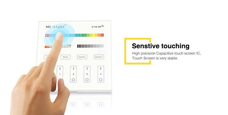 sensitive touching high precision capacitive touch screen IC very stable new technology hot selling product milight