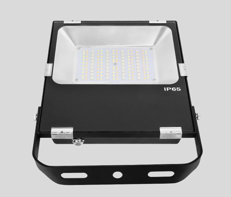 Mi-Light 50W RGB+CCT LED floodlight FUTT02 Taiwan LED chips outdoor waterproof holder
