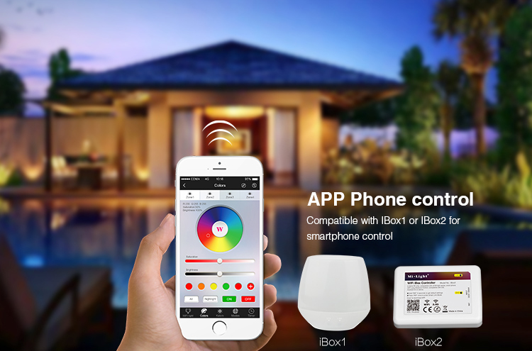 smartphone app control wifi ibox1 ibox2 remote