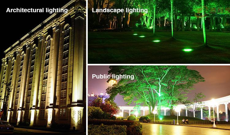 architecural lighting landscape lighting public lighting smart LED floodlight application