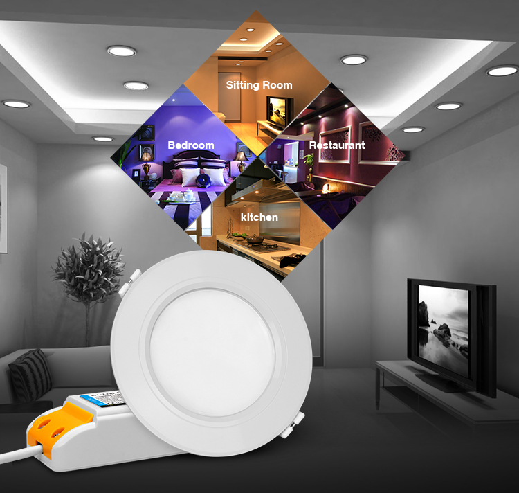 great functionality and vast application of Mi-Light FUT068 LED downlights
