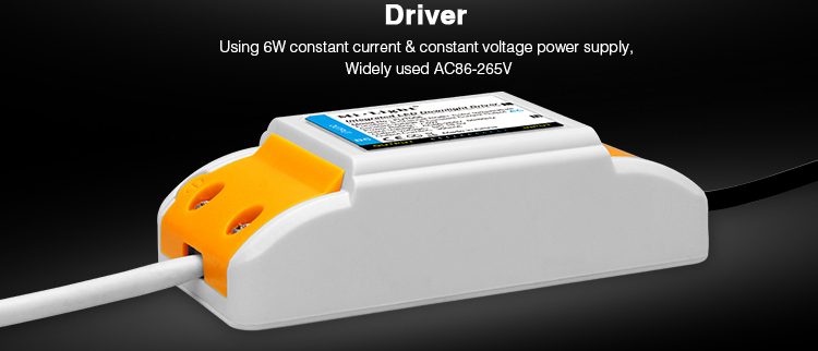 high quality LED driver using 6W constant current and constant voltage AC 86-265V