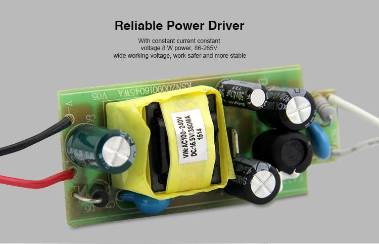 Mi-Light 8W DMX512 RGB+CCT LED light bulb FUTD03 power driver transformer power supply voltage current