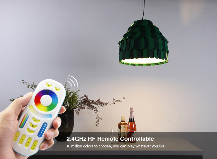 Mi-Light 8W DMX512 RGB+CCT LED light bulb FUTD03 remote controllable lamp