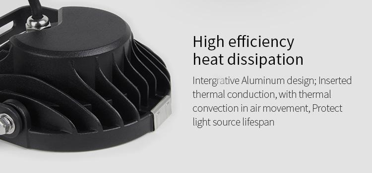 Mi-Light 9W RGB+CCT LED garden light FUTC02 high efficiency heat sink