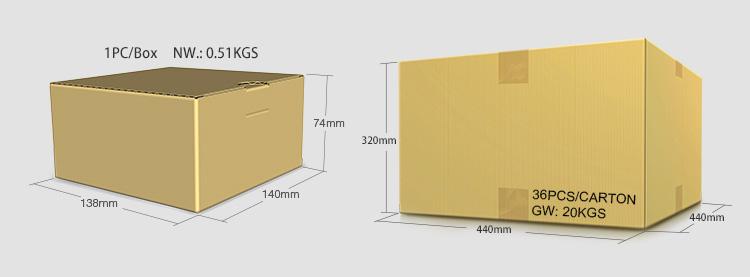 Mi-Light 9W RGB+CCT LED garden light FUTC02 retail box wholesale packaging dimensions minimum quantity order today buy now