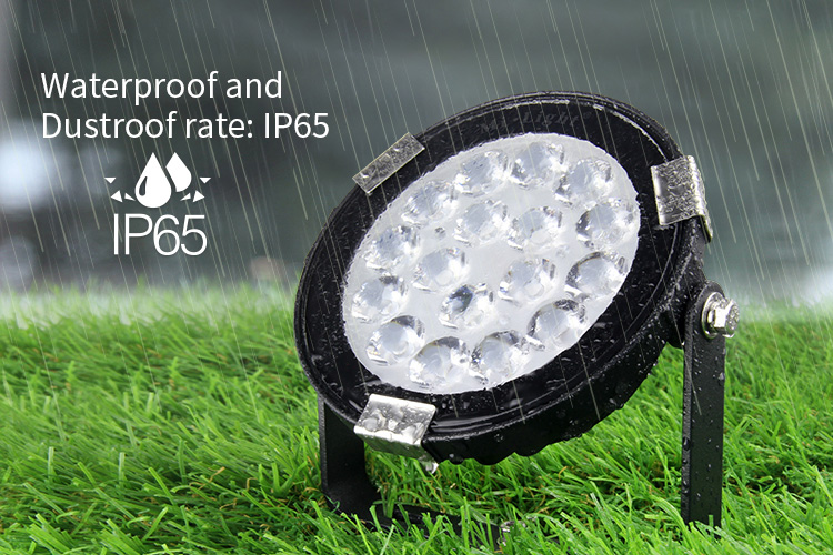 Mi-Light 9W RGB+CCT LED garden light FUTC01 waterproof and dustproof IP65