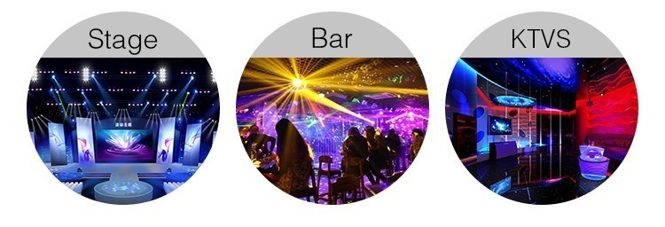 stage bar club KTVS application of DMX lighting