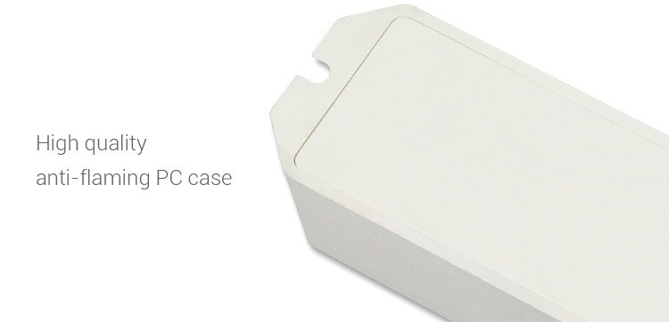 high quality anti-flame PC case white box with an option to screw it directly to the surface