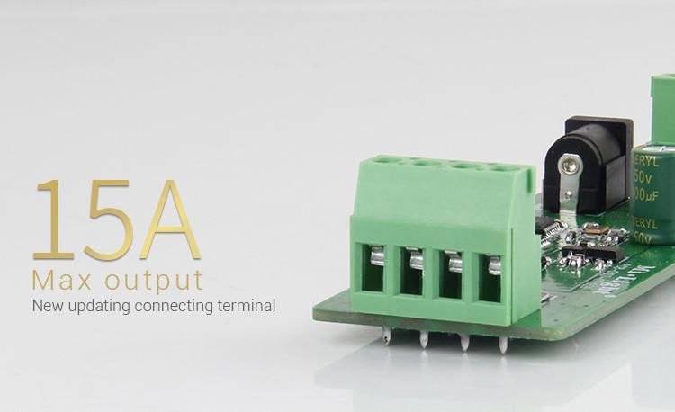 Mi-Light RGB smart LED control system FUT043A new updated 15A screw terminals power input