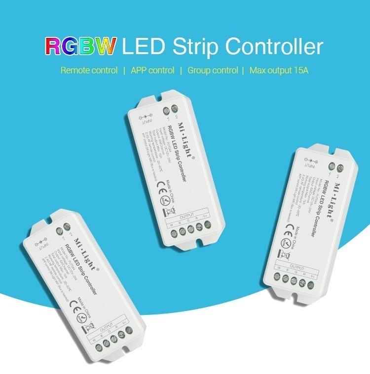RGBW LED strip controller FUT043 FUT044 FUT045 smart lighting Philips Hue Osram