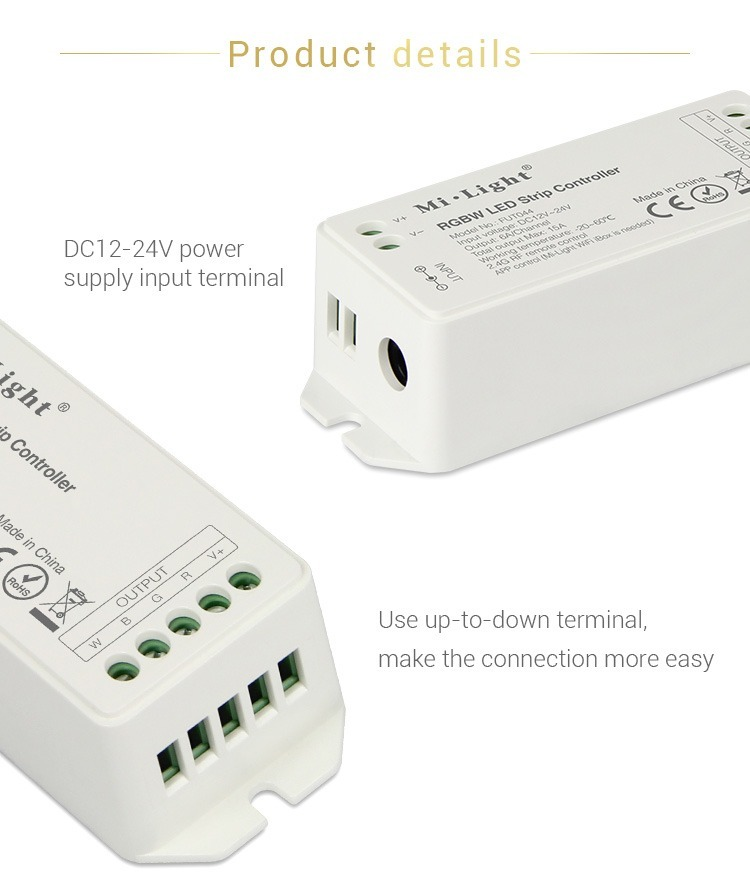product details DC12-24V power supply input terminal