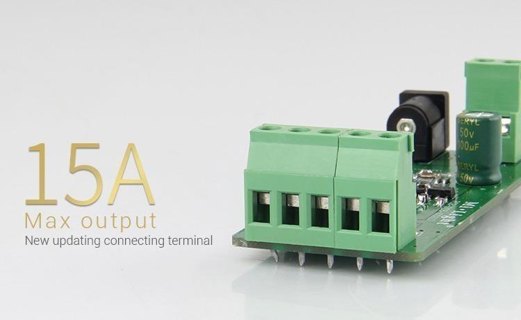 15Amp Mi-Light RGBW smart LED control system FUT044A terminal