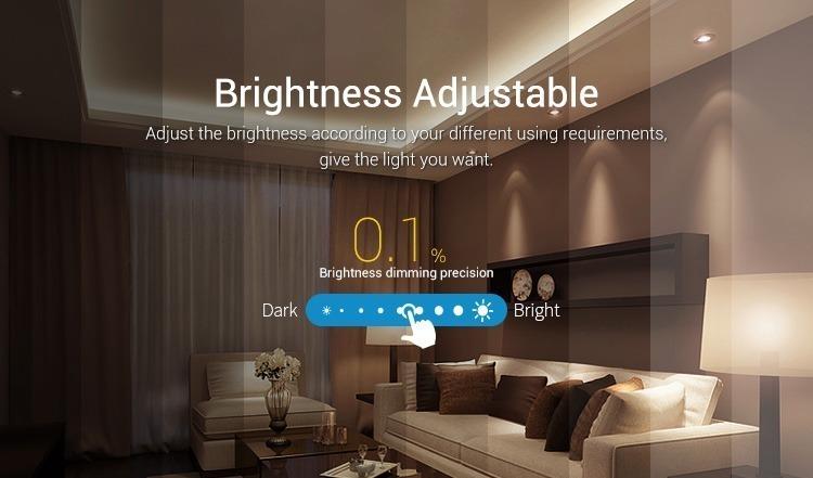 Mi-Light RGBW smart LED control system FUT044A brightness adjustable dimmer