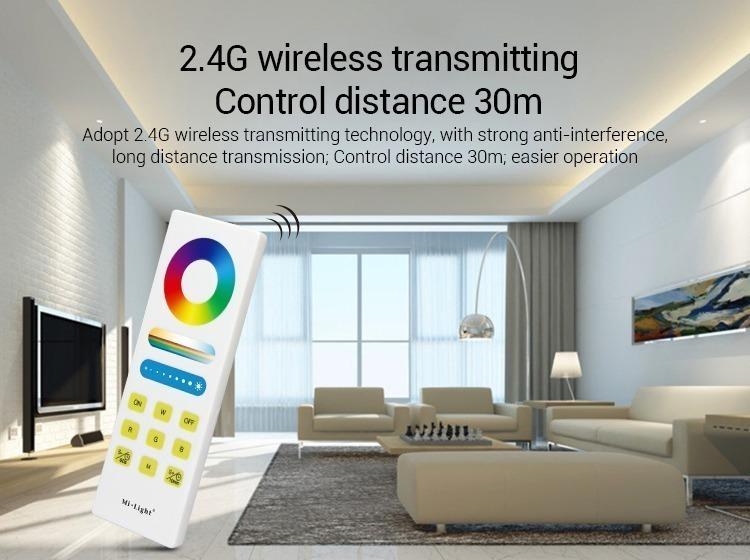 Mi-Light RGBW smart LED control system FUT044A wireless communication WiFi